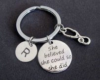 She Believed She Could So She Did, Nurse Gift, Nursing,keychains