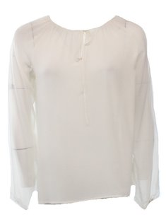 1.STATE 100-polyester Long-sleeve New With Defects 2949-0563 Top