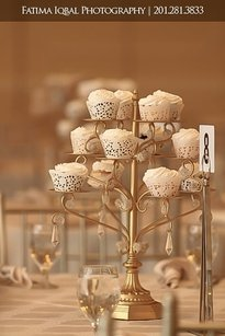 10 Gold Cupcake Stands Candelabras Like Opulent Treasures
