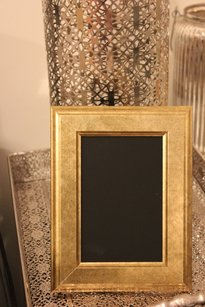 10 Gold Table Number Picture Photo Frames Vintage Style 5x7
