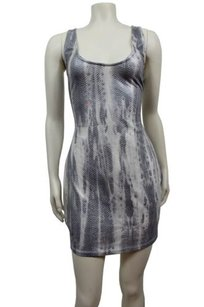 2b bebe Python Print Sleeveless Bodycon Dress