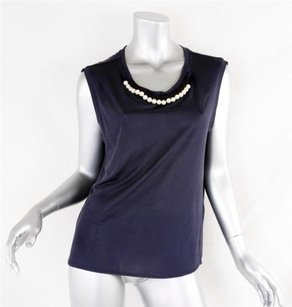 3.1 Phillip Lim Womens Pearl Top Navy