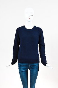 3.1 Phillip Lim Navy Blue Knit Sweater