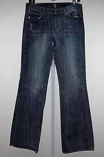 7 For All Mankind Womens Denim Bootcut Jeans Casual Pants