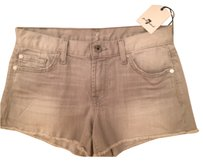 7 For All Mankind Mini/Short Shorts Grey