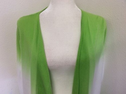 Delicate 89th Madison 89th Madison Swing Open Sweater Wrap Lime