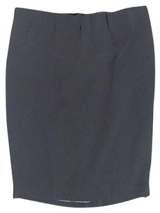 A Pea In The Pod Maternity Triacetate Blend Sma11939 Skirt Black
