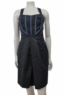 Abaete Denim Trim Embroidered Straps From Saks Fifth Ave Dress