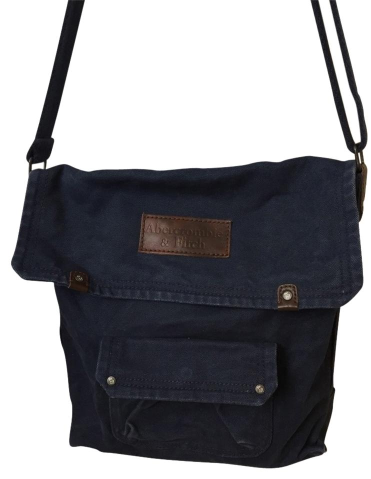 abercrombie fitch navy cross bag on sale 49