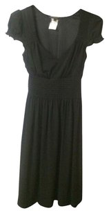 A.B.S. by Allen Schwartz Lbd V Neck Cinched Waist Dress