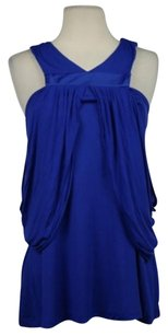 A.B.S. by Allen Schwartz B Womens Top Blue