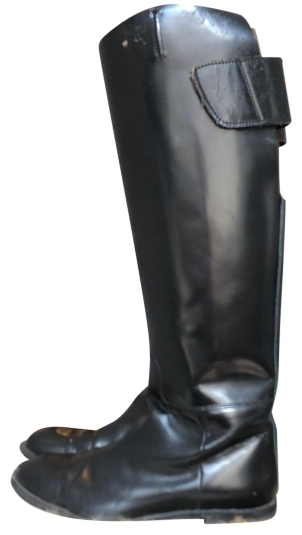 Acne Studios Black Colm Leather Boots/Booties Size EU 38 (Approx. US 8) Regular (M, B)