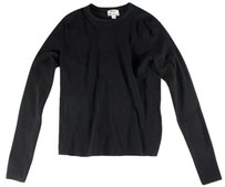 Acne Studios Black Crossover Sweater