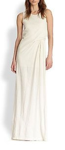 Ivory Maxi Dress by Addison Tyson White 100