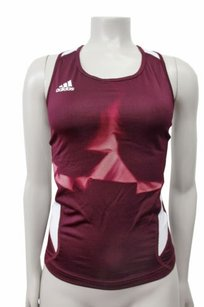 adidas Adidas Climacool Sleeveless Top Maroon White