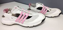 adidas Pink Synthetic White Athletic