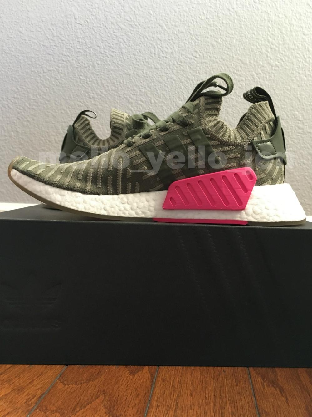 15e891dd72821 ... adidas Olive Nmd R2 Pk Japan St St St Major   By9953   Boost Primeknit  Sneakers ...