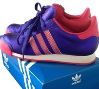 adidas Purple, Pink, And White Athletic