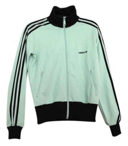 Adidas Track Giacca Giacca Verde Mare Luce Mint Giacca Giacca Activewear Dimensioni 6 ( d5208f