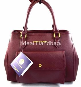 Adrienne Vittadini Satchel in Red