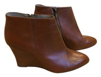 Adrienne Vittadini Wedge Bootie Wedge Boot Brown Boots