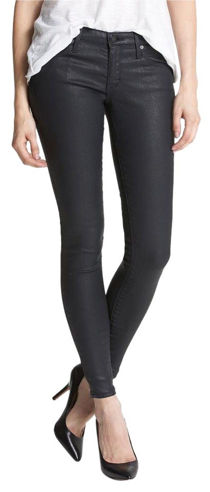 The Legging Ankle coated skinny jeans AG - Adriano Goldschmied