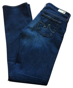 AG Adriano Goldschmied Medium Wash Boot Cut Jeans-Medium Wash