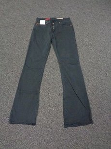 AG Adriano Goldschmied Jeans Navy Blend Low Rise Casual Boot Leg 27 Sm7183 Pants