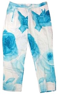 agns b. Capri/Cropped Pants Blue