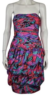 A.J. Bari Womens Printed Dress