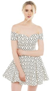 Akira short dress Ivory on Tradesy