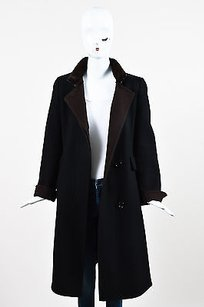 Akris Brown Cashmere Coat