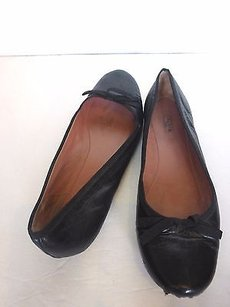 ALAÏA Alaia Leather Ballet Black Flats