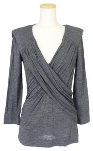 Alberta Ferretti Top Gray