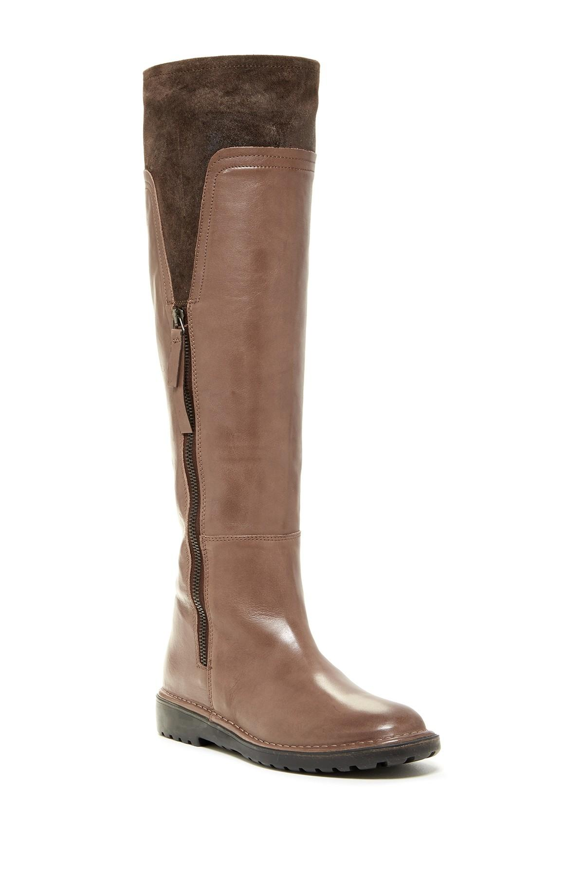 Alberto Fermani Tall Knee Hight - Color - Tortora Brown Taupe ...