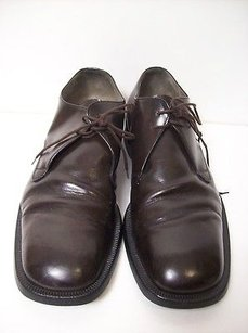 Alberto Guardiani Brown Oxford Shoes 45.5 Made In Italy
