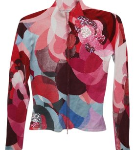 Alberto Makali Beaded Sweater