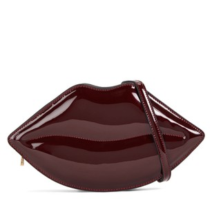 ALDO Bordeaux Clutch