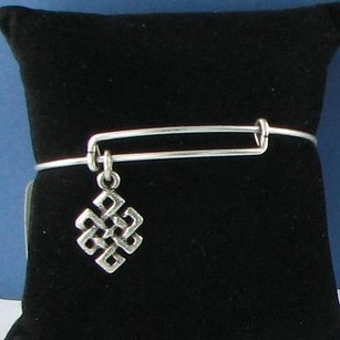 Alex and Ani Alex And Ani Endless Knot Expandable Ewb Bracelet Russian Silver