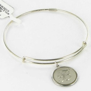Alex and Ani Alex And Ani Pc13b129bs Initial B Expandable Bracelet Sterling Silver Charm