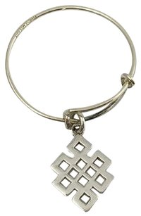Alex and Ani Alex And Ani Providence Collection Expandable Endless Knot Ring 925silver