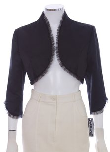 Alex Evenings Bolero Shrug Black Jacket