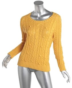 Alexander McQueen Cotton Cable Knit Sweater