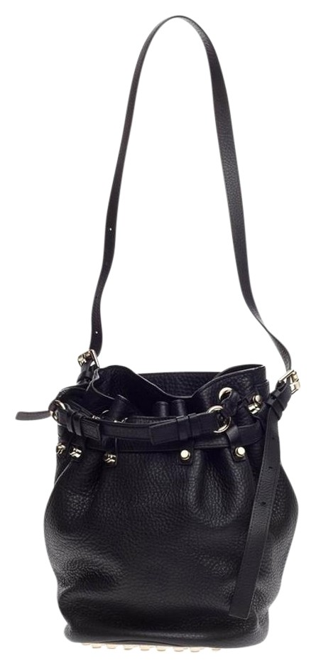 on sale Alexander Wang Diego Bucket Leather Shoulder Bag - www ...