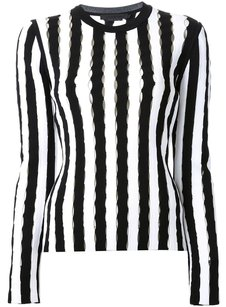 Alexander Wang Slit Cut Out Sweater