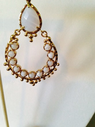 Alexis Bittar Alexis Bittar NWOT Blue Lace Agate Faceted In 14kt Gold Chandelier Earrings