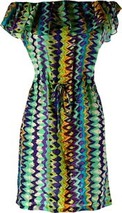 Alexis short dress Silk Print Off The Drawstring Aztec on Tradesy