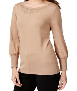Alfani Boat Neck Long Sleeve Sweater