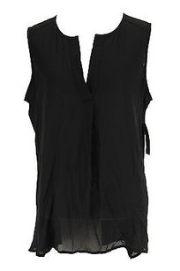 Alfani Womens Polyester Top black