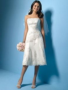 Alfred Angelo Rn 24766 Wedding Dress